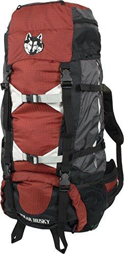 Polar Husky® Outdoor Backpacker Rucksack - Trekking oder Wanderrucksack 65 Liter Farbe Johannes