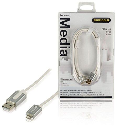 Profigold PROM105 - Cable de Carga y sincronización de Appl