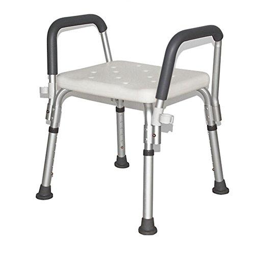 XIN Accoudoir Chaise De Commode Femme Enceinte Vieil Homme Handicapé Personnes Âgées Chaise De Bain Renforcée Pliable Chaise De Douche