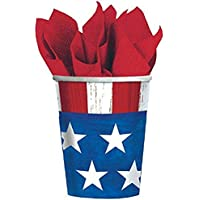 American Party Cups, 9 oz., 25 Ct.