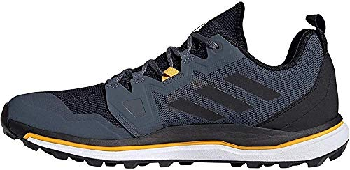 adidas Terrex Agravic, Zapatillas para Carreras de montaña Hombre, Tech Indigo/Core Black/Legend Ink, 43 1/3 EU