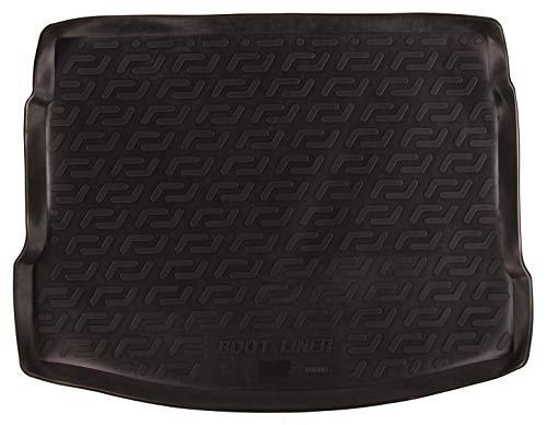 SIXTOL Auto Kofferraumschutz für den Nissan Qashqai I - Maßgeschneiderte antirutsch Kofferraumwanne für den sicheren Transport von Einkauf, Gepäck und Haustier