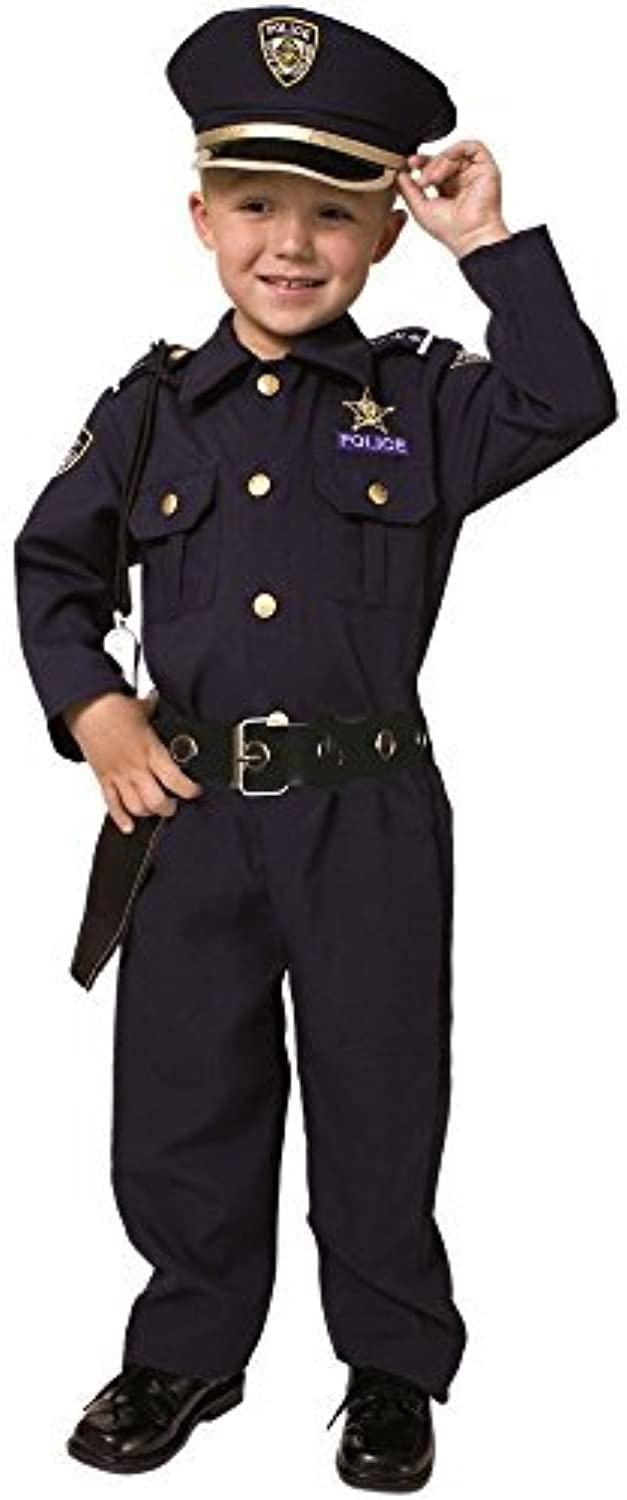 Dress up America Deluxe Police Officer Costume Set (XL) by Dress Up America