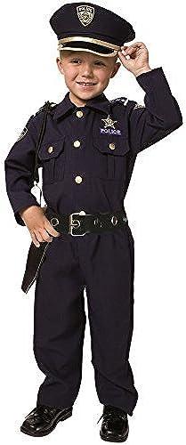 Para tu estilo de juego a los precios más baratos. Little Boys' Deluxe Police Police Police Officer Costume 2T by Dress Up America  tienda de venta en línea