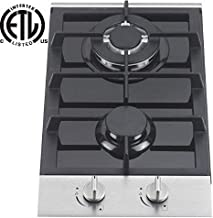Ramblewood GC2-48P (LPG/Propane Gas) 2 burner gas cooktop
