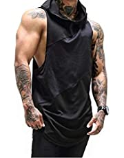 Mens Gym Stringer Tank Top Bodybuilding Athletic Workout Muscle Quick Dry Fitness Vest