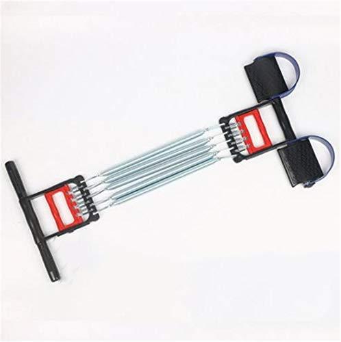 DEKA.O84 3 in 1 Bauchschneider Handgreifer Sport Feder Fußpedal Übung Elastisches Sitzen Zugseil Arm Taille Übung