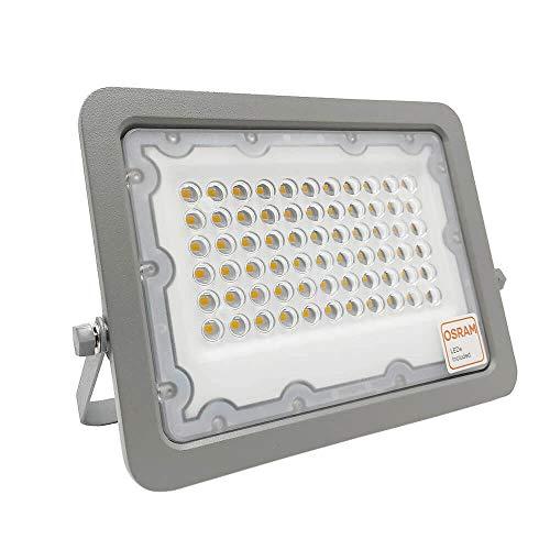 Foco LED Exterior OSRAM 30W 50W 100W 150W 200W, IP65 Luz Cálida...