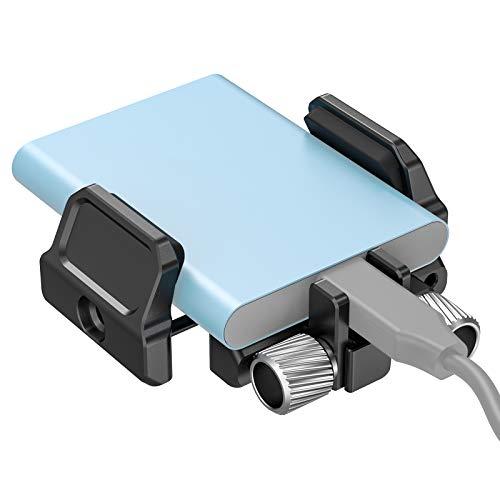 SMALLRIG SSD Mount Bracket SSD Holder für Samsung T5 SSD, SanDisk SSD, SanDisk SSD T5, für SMALLRIG BMPCC 4K & 6K Z Cam E2 Cage - BSH2343