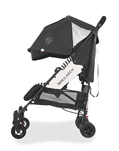 Maclaren Quest Arc Silla de paseo, adecuado para recién nacidos y niños de hasta 25 kg, Capota extensible e impermeable con FPU 50+, asiento multiposición y suspensión en las cuatro ruedas