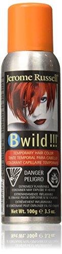 B Wild! by Punky, Temporary Hair Color Spray, Tiger Orange, 3.5 oz