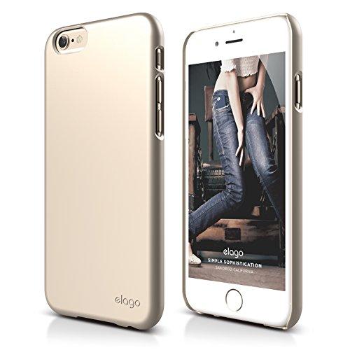 iPhone 6S Plus Case, elago [Slim Fit 2][Soft Feel Champagne Gold] - [Light][Minimalistic][True Fit] - for iPhone 6 Plus/6S Plus