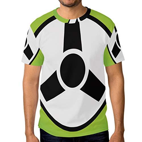FANTAZIO Herren T-Shirt Lenkrad Icon Short Sleeve Rundhals Gr. S, 1