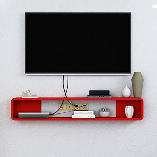 Eenvoudige Kleine TV Kast Drijvende TV Planken Suspension Locker TV Rek Muur TV Kast Muur gemonteerde Media Console