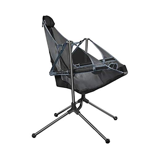 SmallYin Ultralight Folding Camping Chair Outdoor Luxury Convenient and Comfortable Chair 0309DER012,Blue