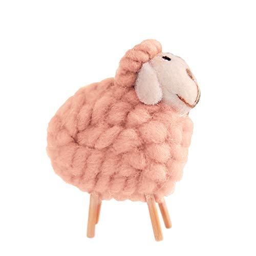 XIANRUI Kerstmis Creative wolvilt leuke sheep home crafts hotels decoraties