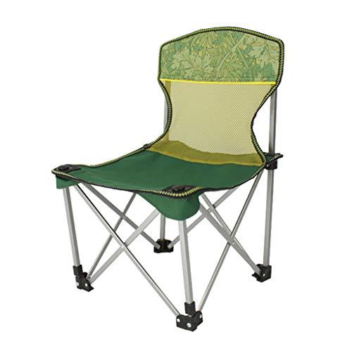 ShJttt-chair or stool Chaise de pêche de Loisirs portative de Chaise de Camping Pliante en Plein air, Chaise de Croquis de Barbecue (39 * 42 * 61 cm)