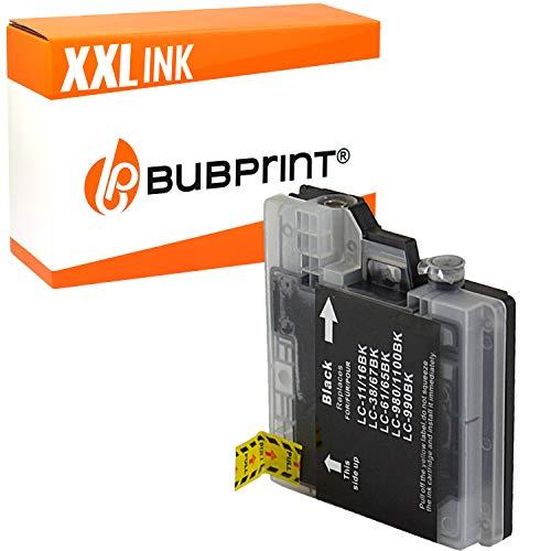 Bubprint Druckerpatrone kompatibel für Brother LC-1100BK LC-980BK für DCP-145C DCP-195C DCP-375CW DCP-J715W MFC-490CW MFC-5890CN MFC-6490CW Schwarz