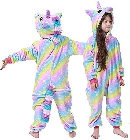 Pijama Unicornio Ropa de Noche del Unicornio Kigurumi Pijamas ...