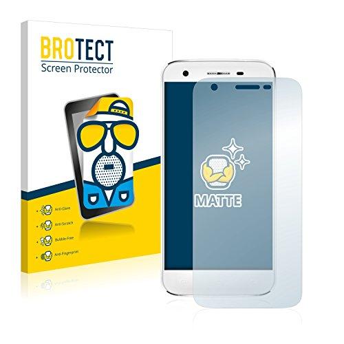 BROTECT 2X Entspiegelungs-Schutzfolie kompatibel mit Doogee F3 Pro Bildschirmschutz-Folie Matt, Anti-Reflex, Anti-Fingerprint