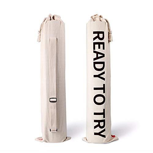 Ardentity yogatas, tas voor yogamat, van stof, waterdicht, voor accessoires voor pilates en yogamat