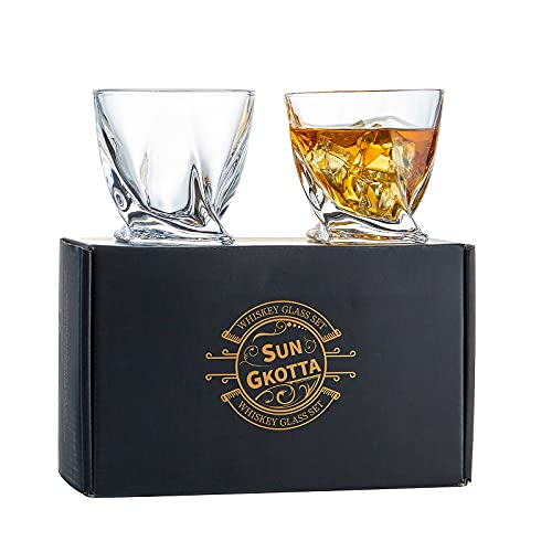 (35% OFF) Luxury Set of 2 Whiskey Glasses $12.99 – Coupon Code