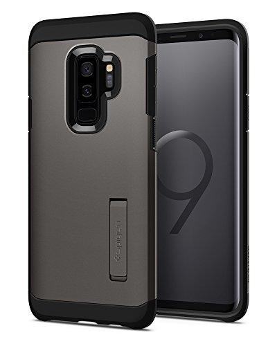 Spigen Tough Armor Hülle Kompatibel mit Samsung Galaxy S9 Plus -Gunmetal