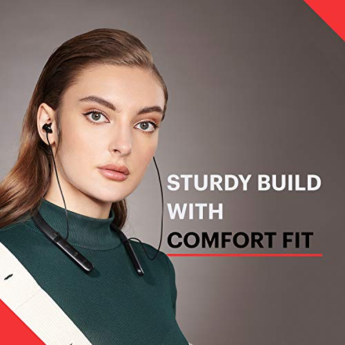 Noise Tune Charge Bluetooth Wireless Neckband Earphones