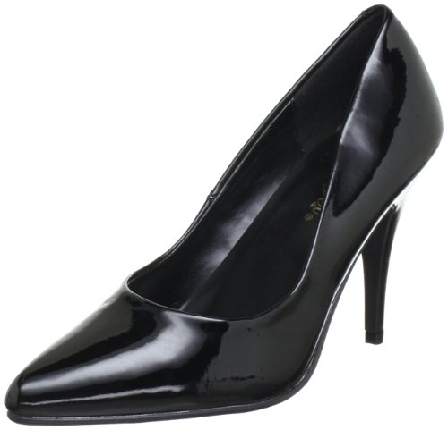 Pleaser VANITY-420 Damen Pumps, Schwarz (Blk pat), EU 43 (UK 10) (US 13)