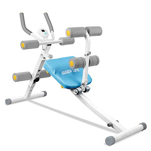 IDEER LIFE Core&Abdominal Trainers Abdominal Workout Machine,Whole...