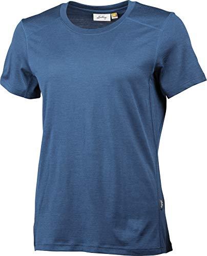 Lundhags Gimmer Lt W T-shirt en laine mérinos - Bleu - XL