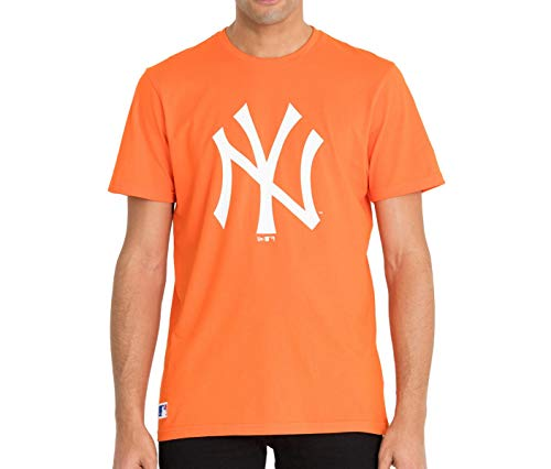 New Era New York Yankees T-Shirt orange (L)