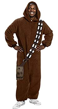 Rubie s mens Star Wars Classic Chewbacca Jumpsuit Standard Adult Sized Costumes Color as Shown Standard US