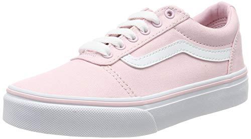 Vans Ward Canvas, Mädchen Bas, Pink ((Canvas) Chalk Pink Vuz), 36.5 EU (4 UK)