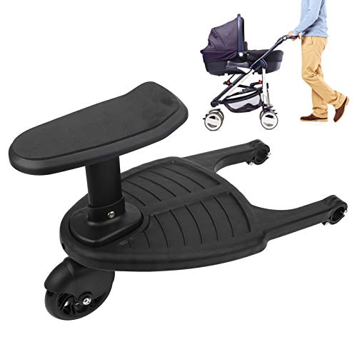 Fockety Kinderwagen Stand Board, verstellbares Kinderwagen Zubehör Kinderwagen Board, für Familienausflug