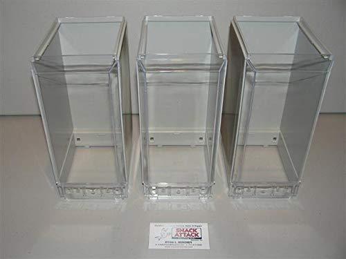 (3) VENDSTAR 3000 Bulk Candy Vending Machine Candy CANSITER Lens Wraps - New /!