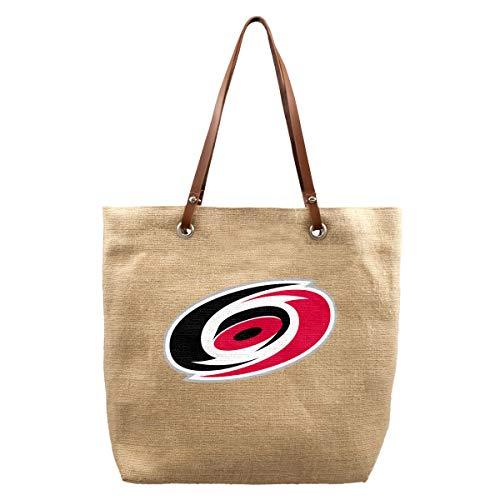 Littlearth NHL Carolina Hurricanes Burlap Market Tote