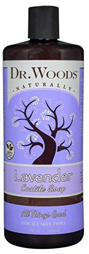 Dr. Woods Pure Lavender Liquid Castile Soap, 32 Ounce
