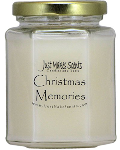 Just Makes Scents Christmas Memories (Cinnamon, Clove & Vanilla) Blended Soy Candle