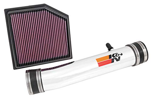 K&N Cold Air Intake Kit: High Performance, Guaranteed to Increase Horsepower: 2013-2019 Lexus (GS 350, IS 350, RC 350, IS 250) 2.5/3.5L V6, 69-8704TP