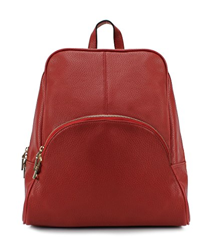 Scarleton Chic Casual Backpack H160810 - Red