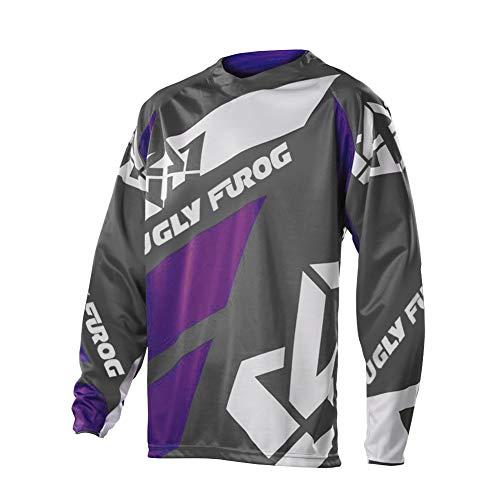 Uglyfrog 2020-2021 Neueste MTB Jersey Lange Ärmel Frühling Motocross Mountain Bike Downhill Shirt Herren Moto Radsport Kleidung DHH02