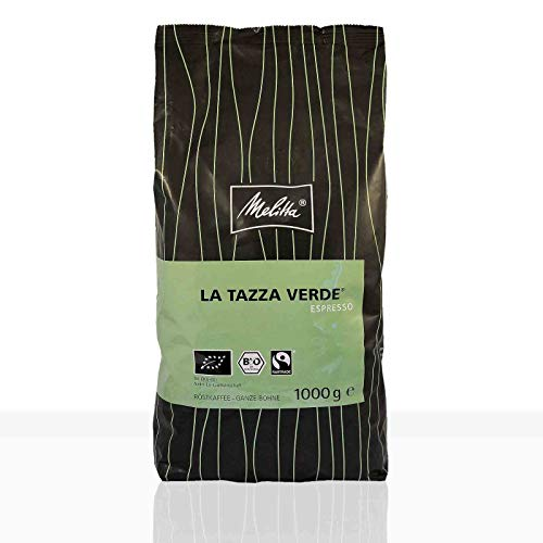 Melitta La Tazza Verde Espresso Bio Fairtrade - 1kg ganze Kaffee-Bohne