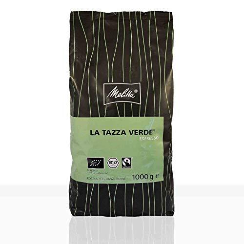 Melitta Espresso La Tazza Verde Bio Fairtrade - 1kg ganze Kaffee-Bohne