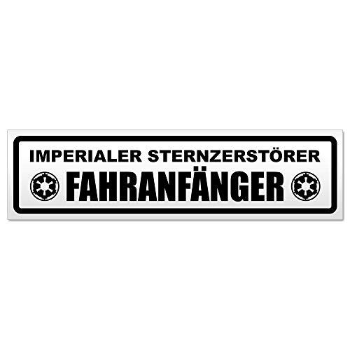 Kiwistar Fahranfänger Imperialer Sternzerstörer Magnetschild Schild magnetisch