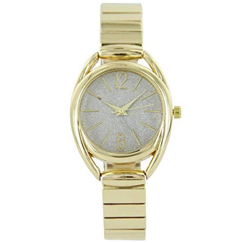 Reloj para Mujer Color Dorado Purpurina Giorgio 958