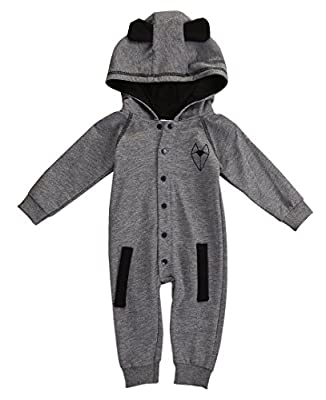 Newborn Baby Boy Girl Fox Hooded Clothes Outfits Rompers Playsuit 0-24M