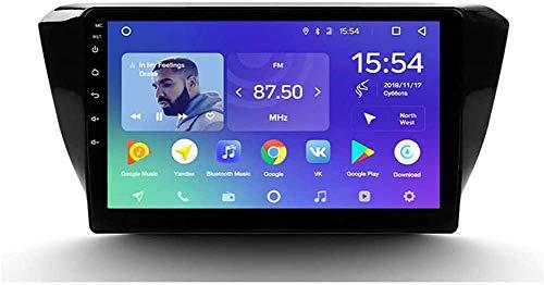 AEBDF Android Sat Nav para Skoda Superb 3 2015-2019, GPS Navigation HD Sistema de Pantalla táctil Unidad de Cabeza Coche Radio estéreo SWC 4G WiFi Espejo Enlace BT,8 Core 4G+WiFi 2+32G