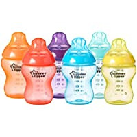 6-Pack Tommee Tippee Closer to Nature Fiesta Baby Feeding Bottles