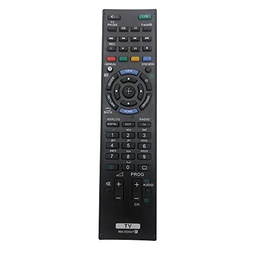 Riry Nuovo Sostitutivo Telecomando TV Sony Bravia RM-ED047 per Telecomando Sony Bravia Originale adatto per RM-ED052 RM-ED050 RM-ED053 RM-ED060 RM-ED046 RM-ED044 KDL-65W855A RM-YD103 KDL22EX553